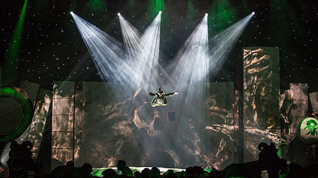 Peter Pan set to soar as arena tour hits Glasgow's The Hydro in 2013