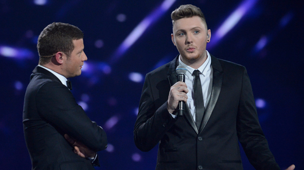 James Arthur is the winner