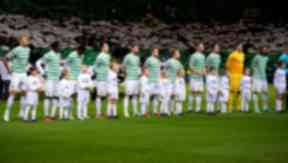 Celtic, Celtic Park, Champions League night, November 2012.