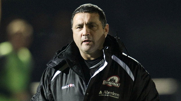 Edinburgh head coach Michael Bradley.