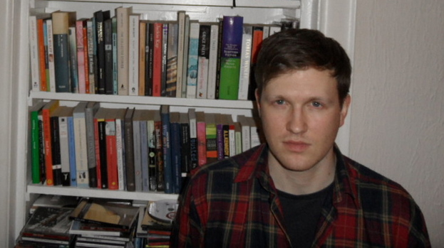 Brian Hamill won the Scottish Book Trust New Writer's Award