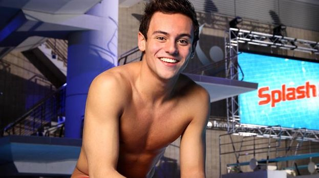 Tom Daley Splash