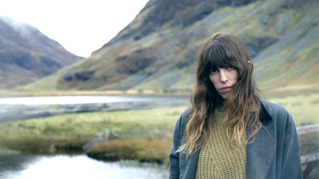 Great escape: Lou Doillon starring in her Scottish-set music video for Devil Or Angel