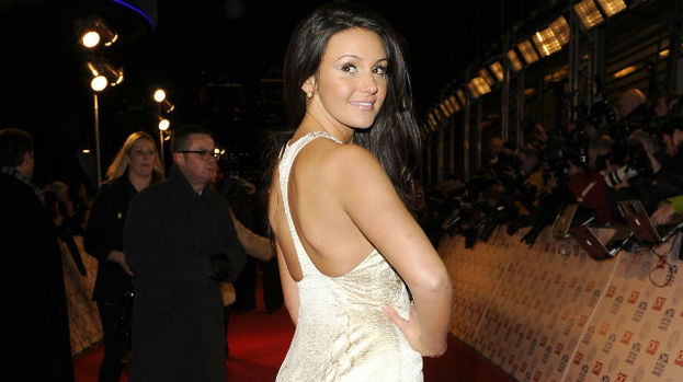 Michelle Keegan at National Television Awards red carpet.