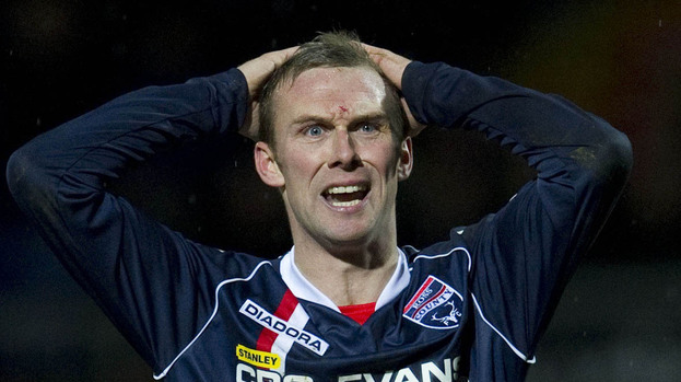 Colin McMenamin, Ross County, January 2013.