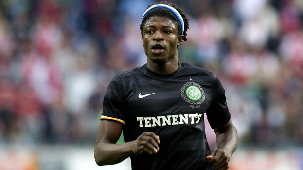 Celtic striker Mo Bangura
