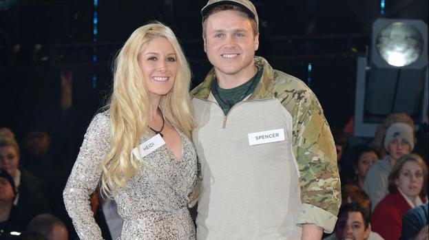 Heidi Montag and Spencer Pratt have Marine bodyguards