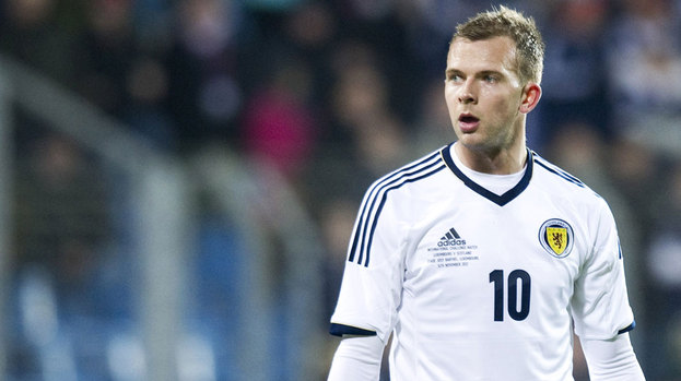 Scotland striker Jordan Rhodes.