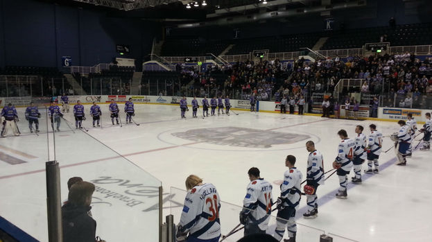 Braehead Clan v Edinburgh Capitals, February 2013.