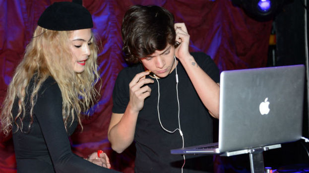 Harry Styles turns his attention to the decks at trendy after party during London Fashion Week 2013