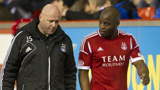 Aberdeen midfielder Issac Osbourne.