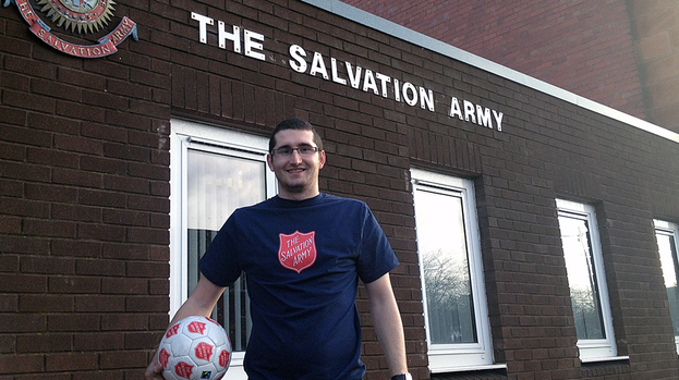 Salvation Army sports ministry coordinator Bobby Weir at the Laurieston Centre in Glasgow.
