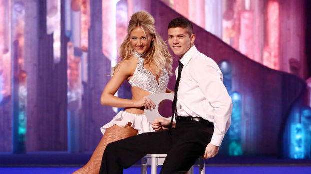 Luke Campbell Dancing on Ice