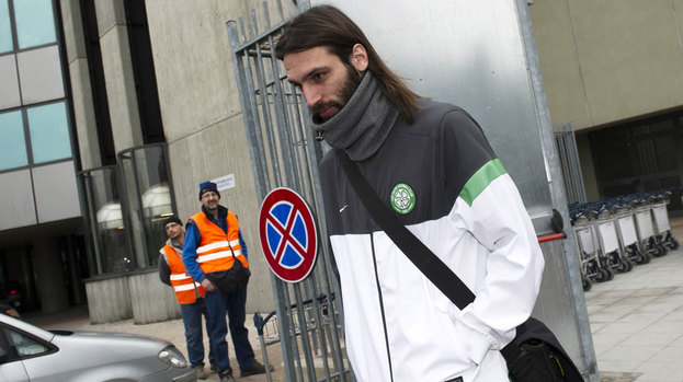 Celtic striker Georgios Samaras.