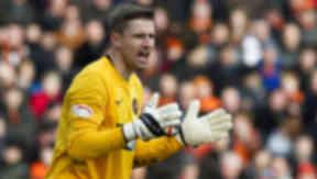 Radoslaw Cierzniak in action for Dundee United
