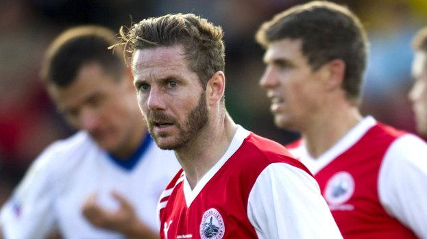 Stirling Albion midfielder Kieran McAnespie.