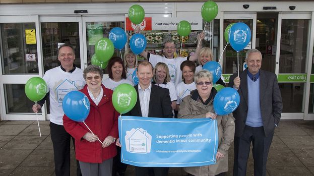 Alzheimer Scotland Homebase partnership launch