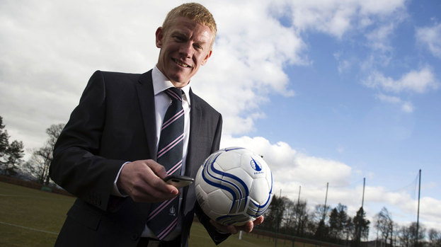 Gary Holt is the new Falkirk boss, replacing Steven Pressley.