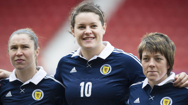 Scotland ladies team