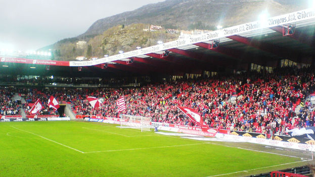 Brann Stadion, SK Brann, Norway, Creative Commons.