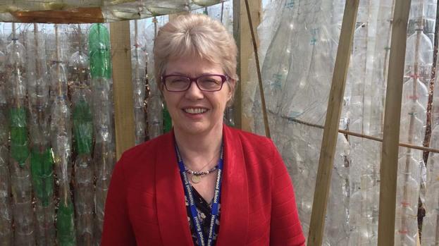 Jill Barry, head teacher of Hazlewood School