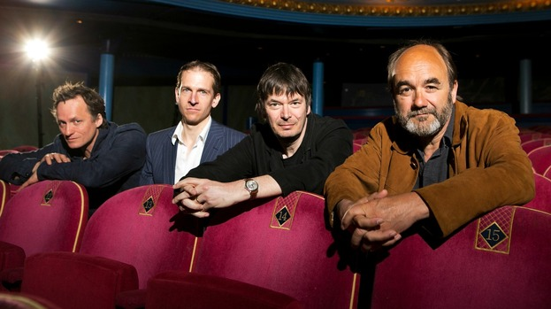 Programme Announcement: Mark Thomson, Ian Rankin and David Haig at the launch event.