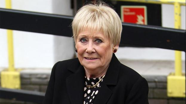 Corrie stars show support for Liz Dawn after heart attack