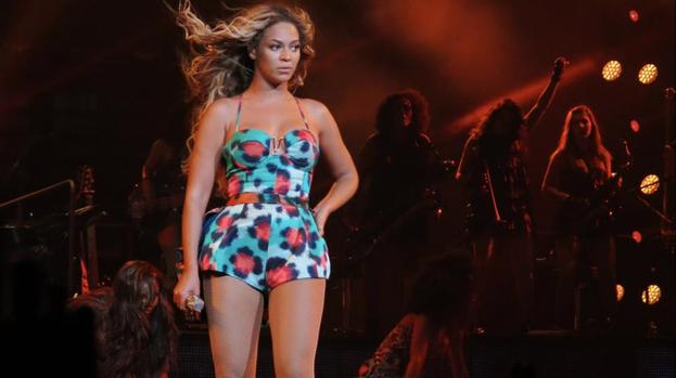 Beyonce closes first day of V Festival