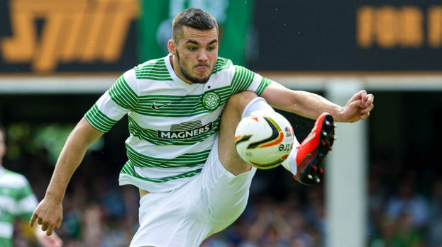 Tony Watt, Celtic, August 2013.