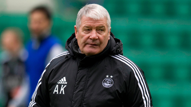 Archie Knox, formerly assistant boss of Aberdeen.