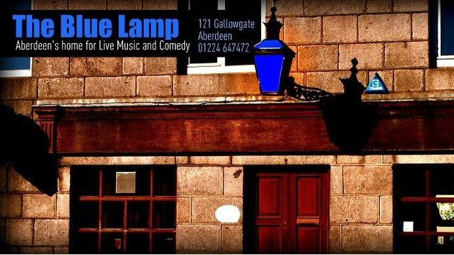 drew landry performs at the blue lamp in aberdeen stv. Black Bedroom Furniture Sets. Home Design Ideas