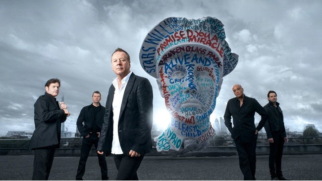 Jim Kerr looks forward to a New Year and a new album