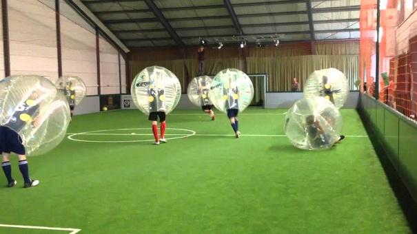 bubble football rules