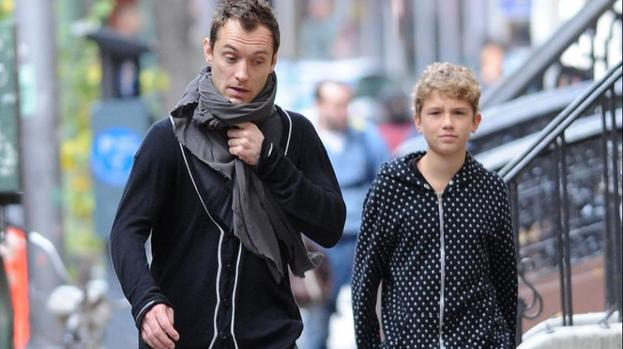 Jude Law: My children keep me sane