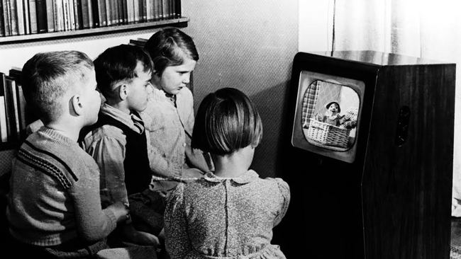 New to the endangered species list: black and white televison