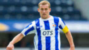 James Fowler in action for Kilmarnock