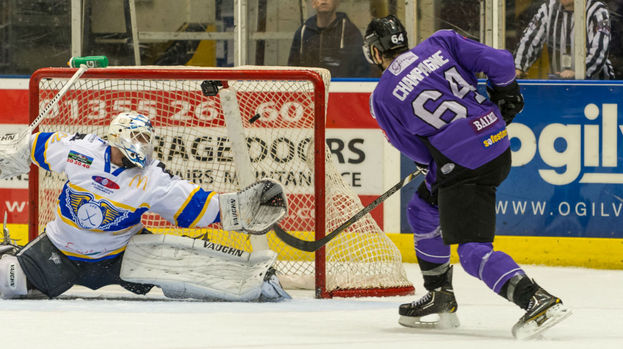 Braehead Clan v Fife Flyers, January 2014.
