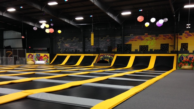 The number of Scottish trampoline parks set to Ryze