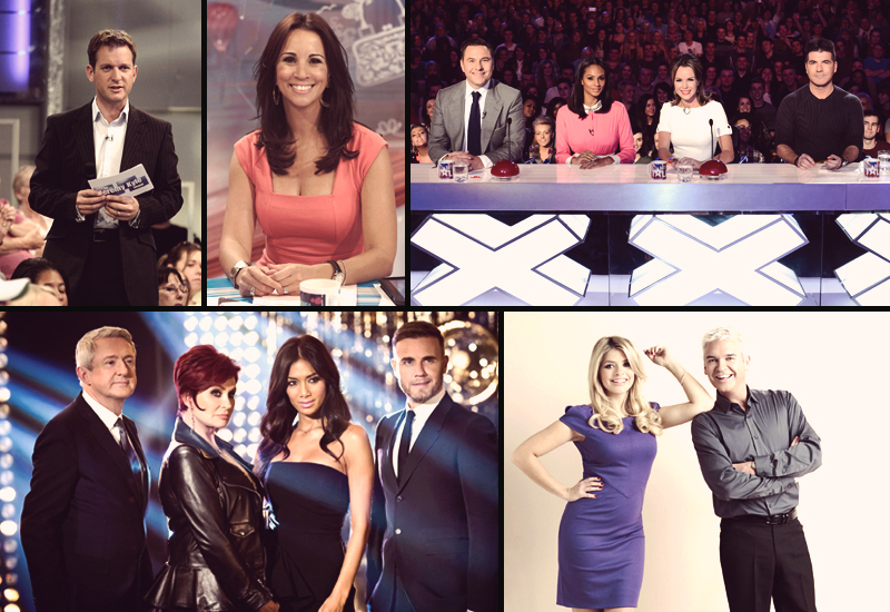 ITV in show comps INFO