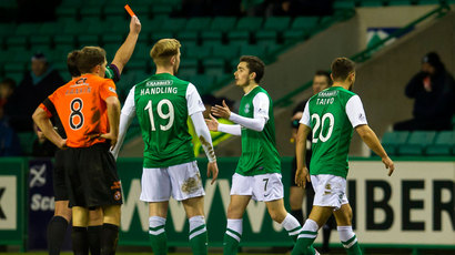 The Big Call: Should Tom Taiwo have been sent off for Hibernian?