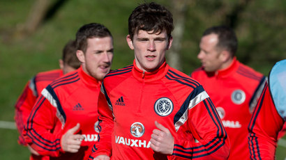 Andrew Robertson relishing Scotland experience after rapid rise