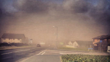 Scottish sandstorms 2013