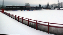 The pitch at Glebe Park in Brechin.
