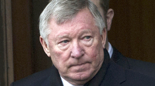 Sir Alex Ferguson: The Manchester United manager was among the mourners.
