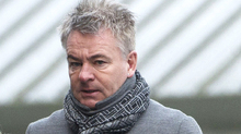 Charlie Nicholas: Former Celtic player among the hundreds of mourners.
