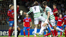 Samaras was again the hero with a headed goal in Celtic's 2-0 first leg victory over Helsin