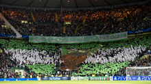 Despite the best efforts of the home support, Celtic drew 0-0 with Benfica in the first group match.