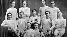 The humble beginnings of the first Glasgow Rangers team