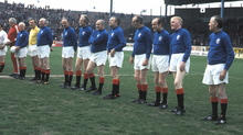 Legends line up at Ibrox in 1972
