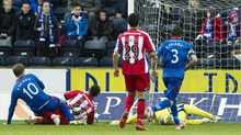 Andrew Shinnie continued his superb form with the opening goal at Rugby Park.